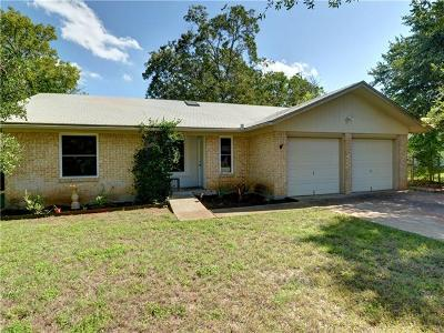 Round Rock Single Family Home For Sale: 701 Buffalo Pass