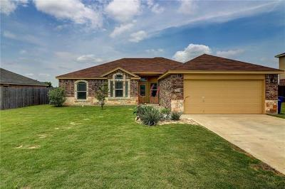 Copperas Cove Single Family Home Active Contingent: 2725 Settlement Rd