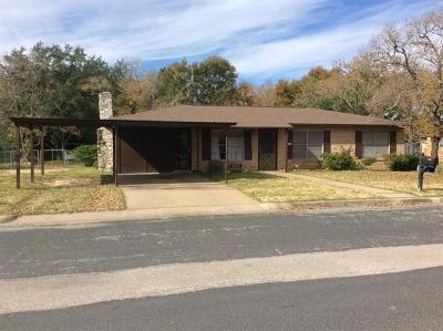 Giddings Single Family Home For Sale: 1021 N Williamson St