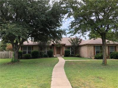 Round Rock Single Family Home For Sale: 222 Adelfa Dr