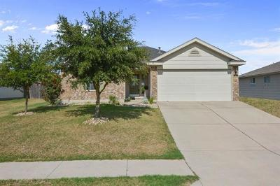 Hutto Single Family Home For Sale: 125 Bayliss St