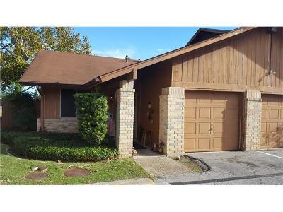 Austin Condo/Townhouse For Sale: 5917 Little Creek Trl