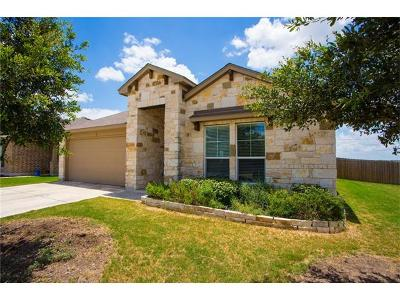 San Marcos Single Family Home For Sale: 607 Teron Dr