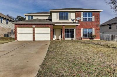 Harker Heights Single Family Home For Sale: 313 Crowfoot Dr