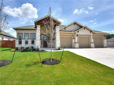 Liberty Hill Single Family Home For Sale: 112 Strata Dr