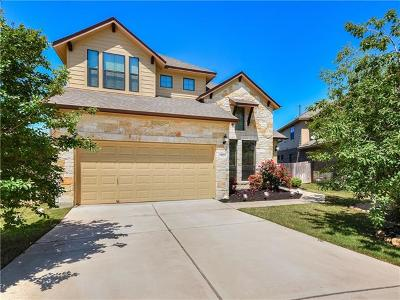 Round Rock Single Family Home For Sale: 532 Cascada Ln