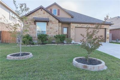 Round Rock Single Family Home For Sale: 8054 Arezzo Dr