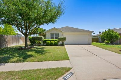 Manor Single Family Home Pending - Taking Backups: 18225 Skysail Dr