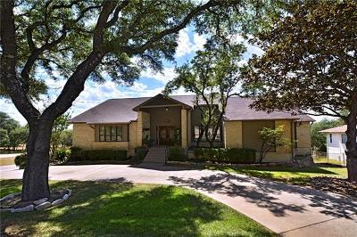 Lago Vista Single Family Home For Sale: 21509 Lakefront Dr