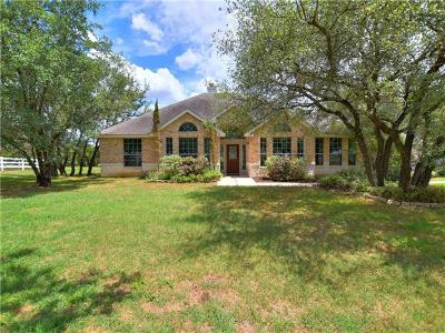 Liberty Hill Single Family Home For Sale: 160 Thoroughbred Trce