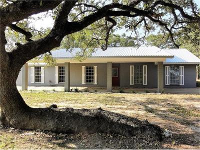 Giddings Single Family Home For Sale: 3687 Fm 141
