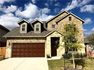 Hutto Single Family Home For Sale: 726 Hereford Loop
