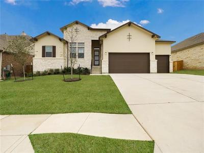 Leander Single Family Home For Sale: 2344 Belen Dr
