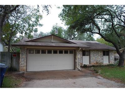 Austin TX Single Family Home For Sale: $259,900