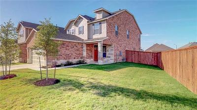 Hutto Single Family Home For Sale: 113 Tudanca St
