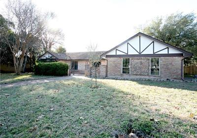 Single Family Home For Sale: 3607 Piute Trl