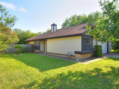 Cedar Park Single Family Home Pending - Taking Backups: 806 Sunny Ln