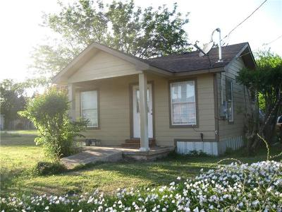 Taylor Single Family Home For Sale: 801 E Martin Luther King Jr Blvd