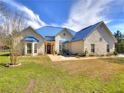 Cedar Creek Single Family Home Pending - Taking Backups: 143 Lois Ln