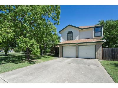 Leander Single Family Home For Sale: 2800 S Walker Dr