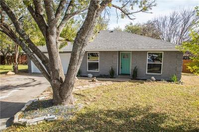 Round Rock Single Family Home Active Contingent