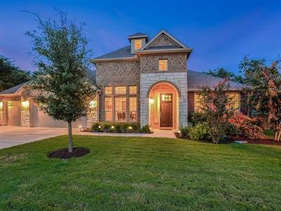 Travis County Single Family Home Pending - Taking Backups: 8509 Rocky Bluff Dr