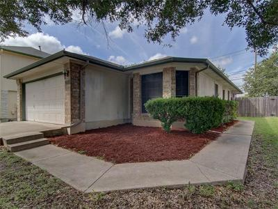 Pflugerville Single Family Home For Sale: 17843 Loch Linnhe Loop