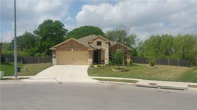 Hutto Single Family Home Pending - Taking Backups: 126 Buescher Cv