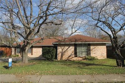 Austin Multi Family Home Pending - Taking Backups: 10623 Golden Quail