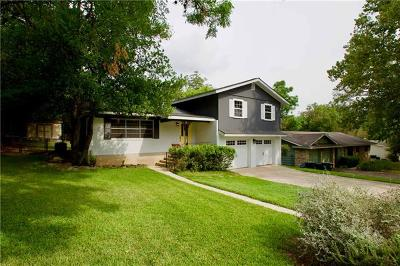 San Marcos Single Family Home Pending - Taking Backups: 510 Franklin Dr