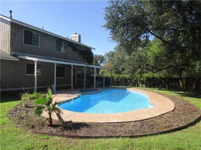 Round Rock Single Family Home For Sale: 2801 Quanah Dr