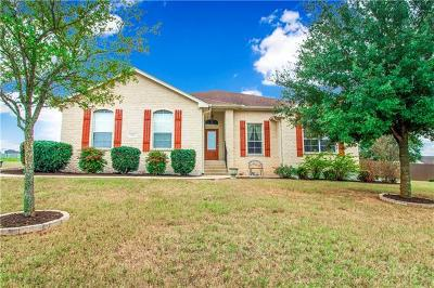 Hutto Single Family Home For Sale: 128 Blanco Dr