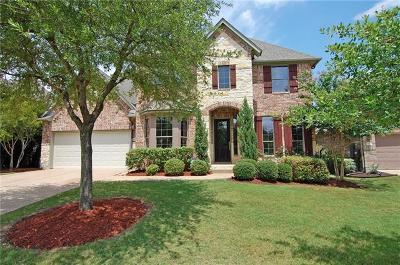 Austin Single Family Home For Sale: 12604 Calistoga Way