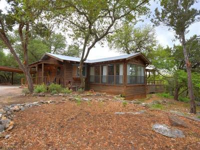 Wimberley Single Family Home Pending - Taking Backups: 410 Cedar Bend Rd