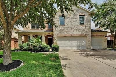 Round Rock Single Family Home For Sale: 804 Centerbrook Pl
