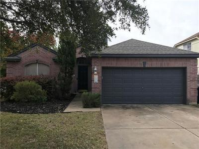 Leander Single Family Home For Sale: 808 Mountain Ridge Dr