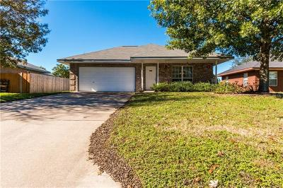 Leander Single Family Home Pending - Taking Backups: 607 Bentwood Dr