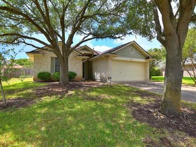 Leander Single Family Home Pending - Taking Backups: 603 Clear Spring Ln