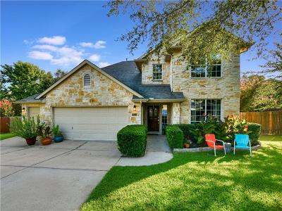 Cedar Park Single Family Home For Sale: 1301 Quail Creek Trl