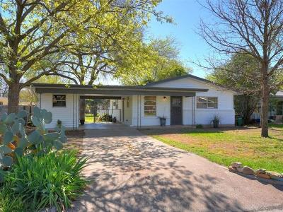 Austin Single Family Home For Sale: 7519 Meadowview Ln