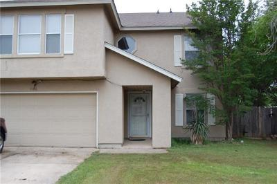Round Rock Single Family Home For Sale: 1106 Pike Path