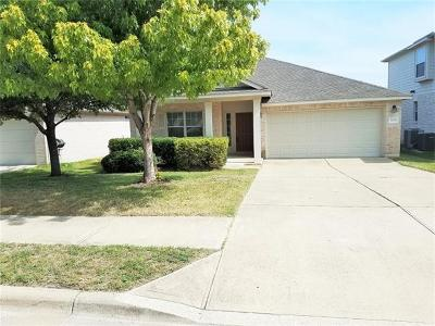 Round Rock Single Family Home For Sale: 3435 Shiraz Loop