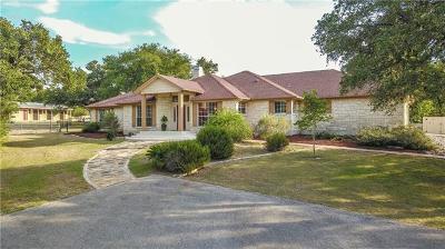 San Marcos Single Family Home For Sale: 121 Cascade Trl