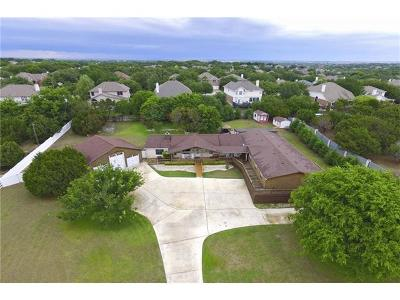 Round Rock Single Family Home For Sale: 6 Valley Trl