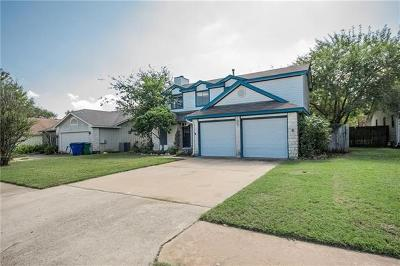 Cedar Park Single Family Home For Sale: 607 Bristlewood Cv