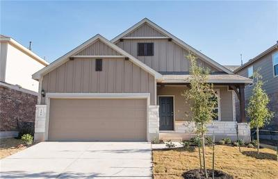 Hutto Single Family Home For Sale: 108 Eli Whitney Way