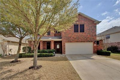 Pflugerville Single Family Home Pending - Taking Backups: 18613 Wind Valley Way
