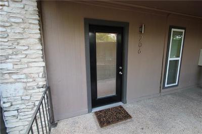 Condo/Townhouse For Sale: 5820 Berkman Dr #206