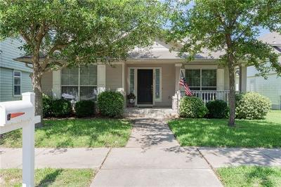 Cedar Park Single Family Home For Sale: 328 Bandstand Ln