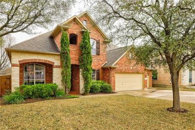 Round Rock Single Family Home For Sale: 2455 Arbor Dr